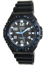 Casio Men's Analog Solar Powered 100m Black Resin Watch MRWS300H-1B2