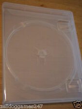 x2 OFFICIAL SONY BLU-RAY / PLAYSTATION 3 REPLACEMENT CASES (PS3) BRAND NEW