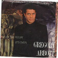 ABBOTT, Gregory  (I Got The Feelin')  Columbia 38 06632 + PICTURE SLEEVE