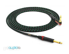 Evidence Audio Lyric HG Instrument Cable | Neutrik Gold TS to 90º Silent TS 20'
