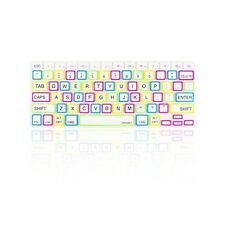 "CANDY WHITE Silicone Keyboard Cover Skin  for Macbook Pro 13"" 15"" 17"" Retina"
