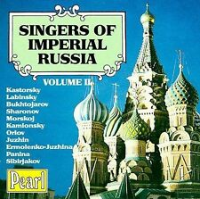 Singers of Imperial Russia, Vol. 2 New CD