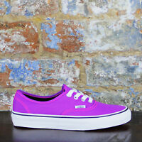 Vans Authentic Trainers Pumps Brand new in box in Purple, UK Size 3,4,6