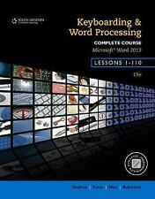 Keyboarding and Word Processing, Complete Course, Lessons 1-110: Microsoft Word