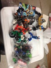 Bulk Lot of Assorted Loose LEGO Bionicle & Technic Pieces - LOT