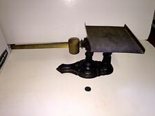 Rare Fairbanks Postal Scale Brass Slide&weight Brass Tray Castiron Base