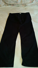 New Straight Cut Black Jeans Waist 37 Inside Leg 31 100% Cotton By Classic