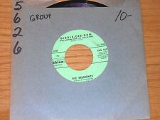 "DOO WOP GROUP 45 RPM - THE BELMONTS - SABINA 507 - ""DIDDLE-DEE-DUM"" + ""FAREWELL"""