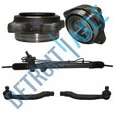 Kit -Rack and Pinion + 2 Front Wheel Hub and Bearing + 2 Outer Tie Rod L4 2.3L