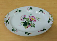 Hira China Morning Glory Hira11 Oval Serving Platter Occupied Japan Vintage