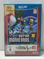 Nintendo Wii U juego Select: New Super Mario Bros. u + Super Luigi Bros pal versículo.