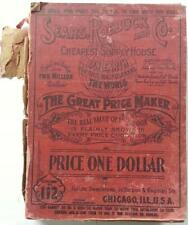 1903 Sears Roebuck & Co. Catalog #112 Cheapest Supply House on Earth Chicago,Ill