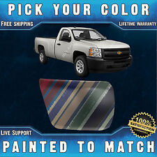 NEW Painted To Match - Passengers Front Bumper End Cap 2007-2013 Chevy Silverado