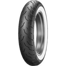DUNLOP ELITE WHITE WALL MT90B16 WWW FRONT TIRE HARLEY FLHR ROAD KING FLHRS