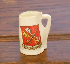 W H Goss Crested Winchester  Black Jack -See of Winchester Matching Crest