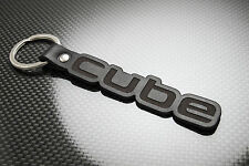 Nissan CUBE Luxury Leather Keyring Schlüsselring Porte-clés IMPORT PIKE FACTORY