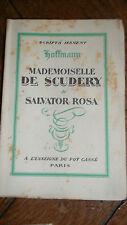 Hoffmann* Mademoiselle de Scudéry et Salvator Rosa*  A L'Enseigne du pot cassé