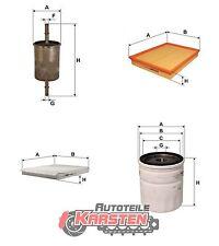Set L: Kraftstofffilter+Luftfilter+Innenraumfilter+Ölfilter Inspektionspaket
