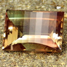 ORANGE PINK GREEN OREGON SUNSTONE 5.54Ct FLAWLESS-FOR RARE JEWELRY-INVESTMENT!