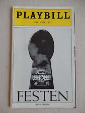 April 2006 - Music Box Theatre Playbill with Ticket - Festen - Ali MacGraw