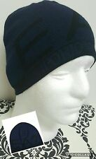 **EMPORIO ARMANI** EA7 NAVY MENS VISIBILITY BEANIE WOOL HAT SN64
