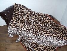 XXL KUSCHELDECKE Tagesdecke Decke Leopard - Design 200x240cm