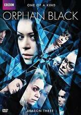 Orphan Black: Saison 3 (DVD, 2015, 3-Disc Set) Sealed NEW