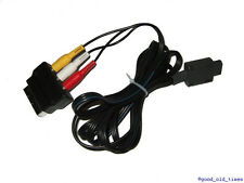 ## ORIGINAL NINTENDO SNES / GAMECUBE CINCHKABEL + SCARTADAPTER ##