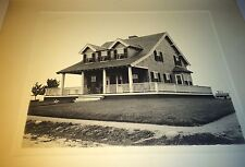 Rare Antique Wealthy American Beach House, Front Yard Dog! Long Island? Photo!