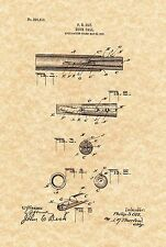 Patent Print - Antique Duck Call 1906 Hunting Art. Ready To Be Framed!