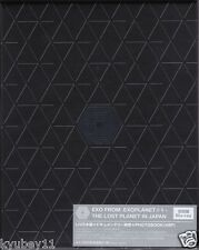 New EXO FROM. EXOPLANET #1 THE LOST PLANET IN JAPAN Limited Blu-ray Photobook