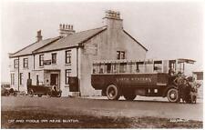 Cat & Fiddle Inn Pub Nr Buxton Bus unused RP old pc Valentines