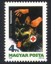 Hungría 1986 dogs/blind/health / welfare/disabled/braille / animales 1v (n39391)