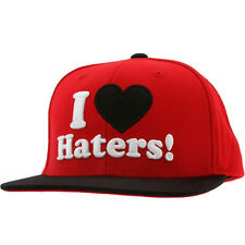 Snapback I LOVE Haters Cap DGK blogueurs Last kings Obey MMG ymcmb dope tisa New