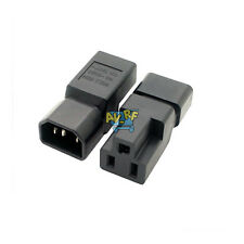 New Durable 10-16A IEC Male C14 To Nema 5-15R Power Plug Adapter To US Connector