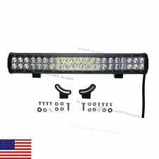 "20"" 126W Cree Led Work Light Bar Spot Flood Combo Offroad for SUV Truck US Ship"