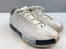 Air Jordan Team Elite 2 (TE 2) 2007 White Shoes 310011-143 Men's 7.5 EUR 40.5