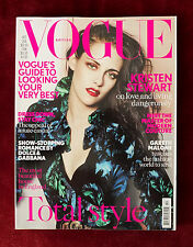 Vogue British ~ October 2012 ~ Kristen Stewart by Mario Testino