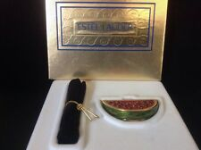 Estee Lauder White Linen Marvelous Melon Compact For Solid Perfume 96 in box