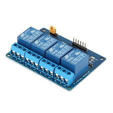 4 Channel 5V Relay Module Board Shield For PIC AVR DSP ARM MCU for Arduino  BE