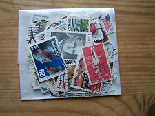 100 DIFFERENT U.S.A STAMPS,USED,NICE.