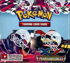 POKEMON XY PHANTOM FORCES BOOSTER 6 BOX CASE BLOWOUT CARDS