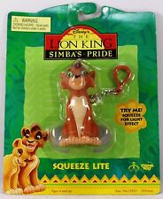 DISNEY LION KING SIMBAS PRIDE SQUEEZE LIGHT KEY CHAIN KOVU CHARACTER FIGURE NEW