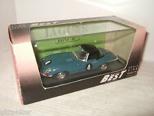 Rare Best 9036, G Hill's  E Type Jaguar Spyder, Oulton Park 61 in 1:43 scale.
