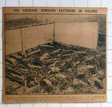 1915 The Germans Bombard Factories In Poland