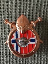 Hard rock cafe oslo Viking Shield pin 2017/le 200