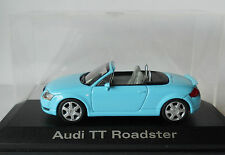 Audi TT Roadster Turquoise 1/43 Minichamps Mint Condition in Display Case