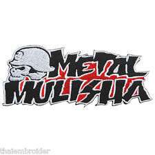 Skull Metal Mulisha Rock Star Energy Drink Biker Motorcycle Iron-On Patch #SK013