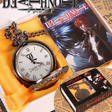 HOT Anime Death Note Pocket Watch Quartz Toy Gift Cosplay Costume Props
