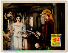 THE BLACK SWAN LOBBY CARD size 11x14 Inch MOVIE POSTER 1942 Card #3 TYRONE POWER